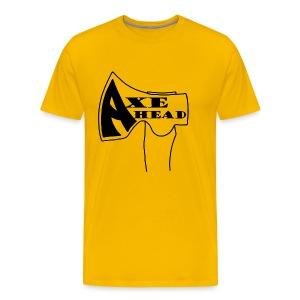 Axe Head - Men's Premium T-Shirt