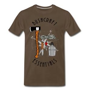 Bushcraft Essentials  - Men's Premium T-Shirt