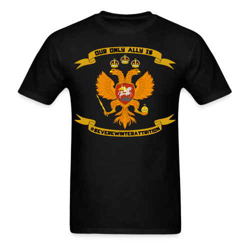 Tsardom of Russia - normal edition - Men's T-Shirt