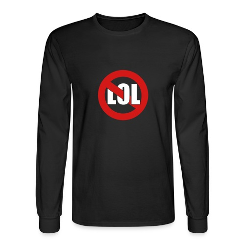 No LOL - Men's Long Sleeve T-Shirt