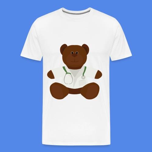 Dr Teddy bear  - Men's Premium T-Shirt