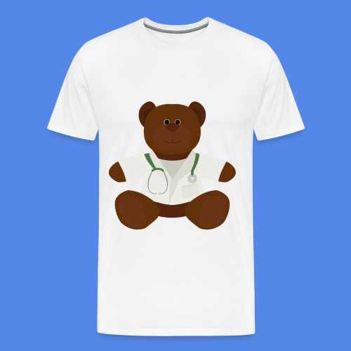 Dr Teddy bear  - Men's Premium T-Shirt