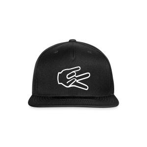 3-Peace Cap Transparent - Snap-back Baseball Cap