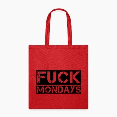 Fuck Mondays Bags & backpacks