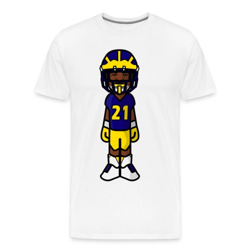Michigan T-Shirt #21 - Men's Premium T-Shirt