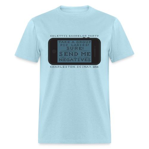 Send Me the Negatives! - Men's T-Shirt