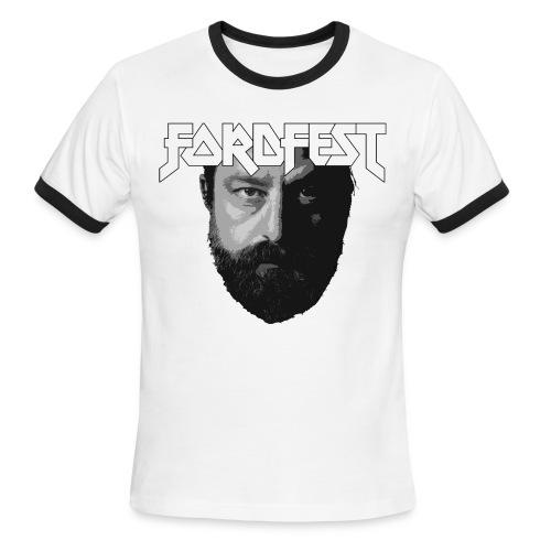 Mens pipe Sean Rowe FordFest - Men's Ringer T-Shirt