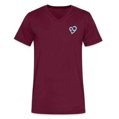 Vneck - Men's V-Neck T-Shirt by Canvas