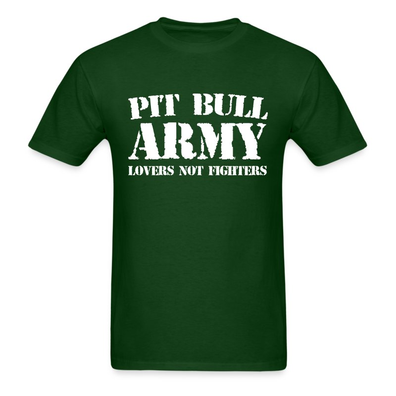 pitbullarmy02 - Men's T-Shirt