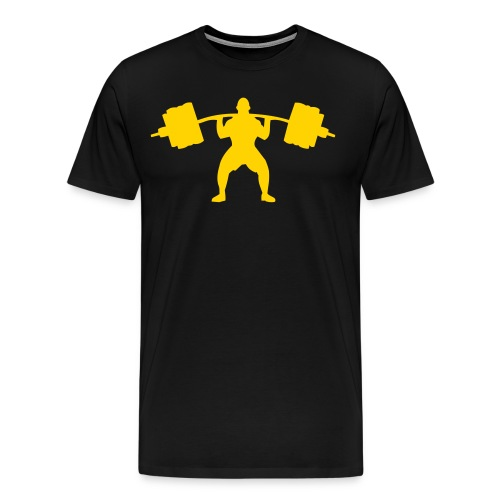 WeightLifting men's premium T-shirt - Men's Premium T-Shirt