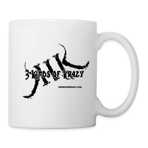 3 Kinds of Krazy white mug - Coffee/Tea Mug