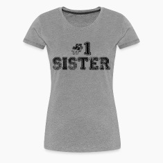 number 1 sister Women's T-Shirts