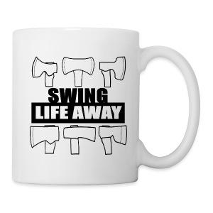 Swing Life Away Mug - Coffee/Tea Mug