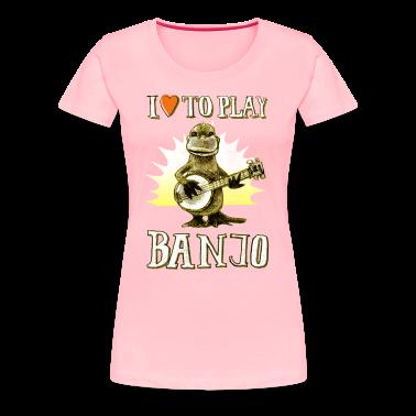 I Love To Play Banjo T Shirt Spreadshirt
