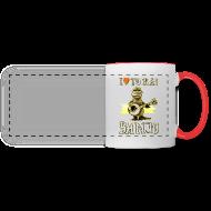 Mugs & Drinkware ~ Panoramic Mug ~ I love to play banjo