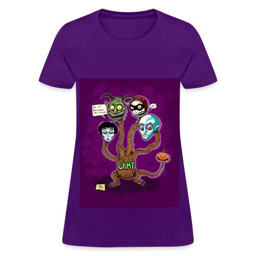 Creepy Kofy Hydra - Women's T-Shirt