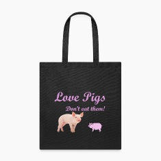 LOVE PIGS, DON'T EAT THEM