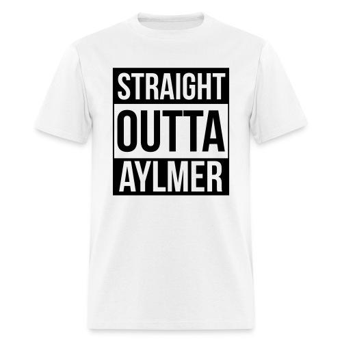 Straight Outta Aylmer - Men's T-Shirt