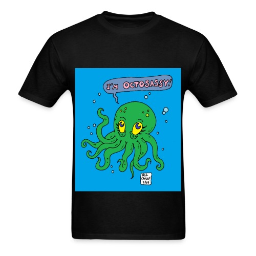 octosassy - Men's T-Shirt