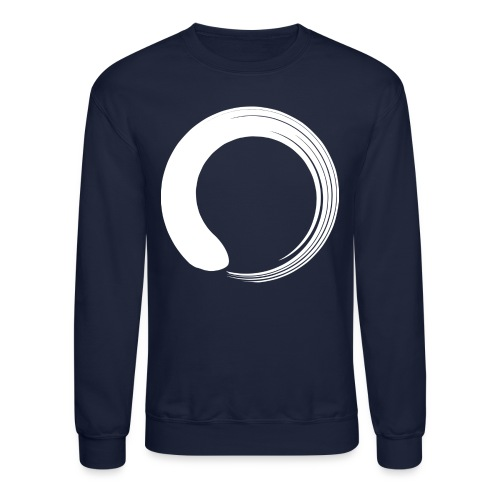 White Enso Crewneck - Crewneck Sweatshirt