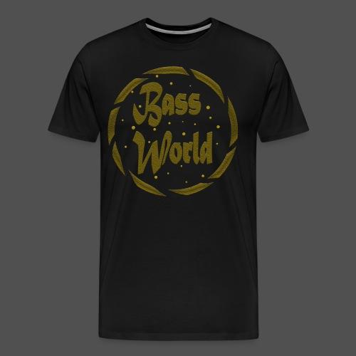 T-Shirt Gold Logo - Men's Premium T-Shirt