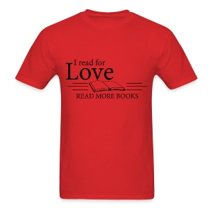 Read for Love - Men's T-Shirt