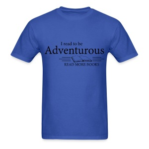Read to be Adventurous - Men's T-Shirt