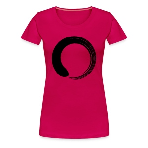 Black Enso - Women's Premium T-Shirt