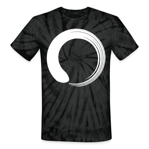 White Enso Tye Die - Unisex Tie Dye T-Shirt