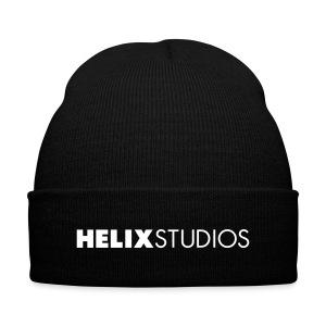 Helix Studios Logo Knit Cap - Knit Cap with Cuff Print