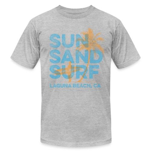 Sun, Sand, Surf - Laguna Beach T-shirt - Men's Fine Jersey T-Shirt