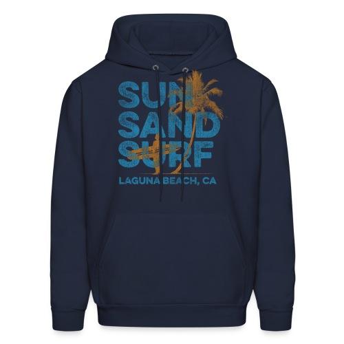 Sun, Sand, Surf - Laguna Beach Hoodie - Men's Hoodie
