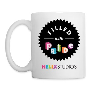 Helix Studios Filled With Pride Mug - Coffee/Tea Mug