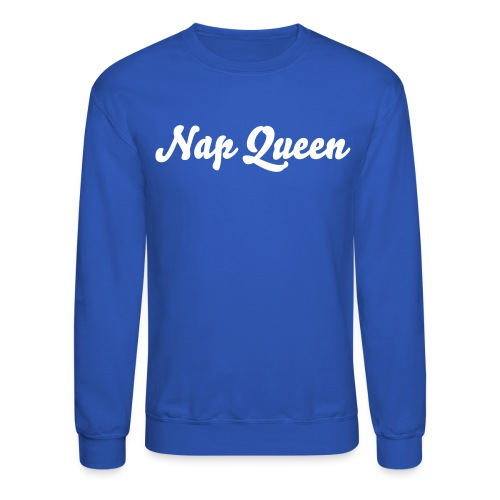 Nap Queen (blue) - Crewneck Sweatshirt