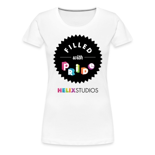 Helix Studios Women's Filled with Pride T-Shirt - Women's Premium T-Shirt