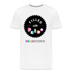 Helix Studios Men's Filled with Pride T-Shirt - Men's Premium T-Shirt