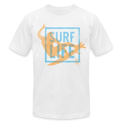 Surf Life T-shirt - Men's Fine Jersey T-Shirt