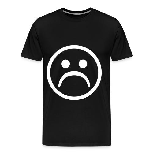 Sad (White) - Men's Premium T-Shirt