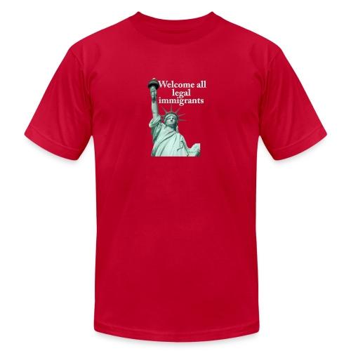 Legal Immigration - Men's Fine Jersey T-Shirt