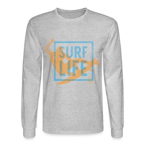 Surf Life  Long Sleeve T-shirt - Men's Long Sleeve T-Shirt