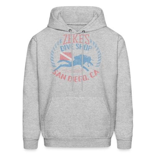 Zeke's Dive Shop, San Diego Hoodie - Men's Hoodie