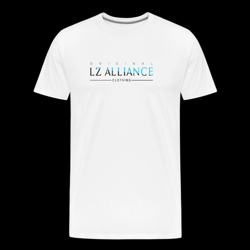 Lz Clothing Line, Blue Design - Men's Premium T-Shirt