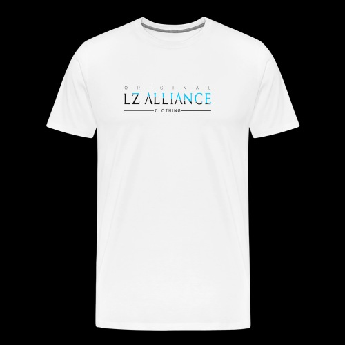 Lz Clothing Line, Blue Design - Men's Premium T-Shirt