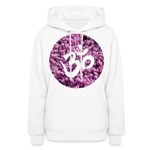 Om Floral Sweatshirt - Women's Hoodie