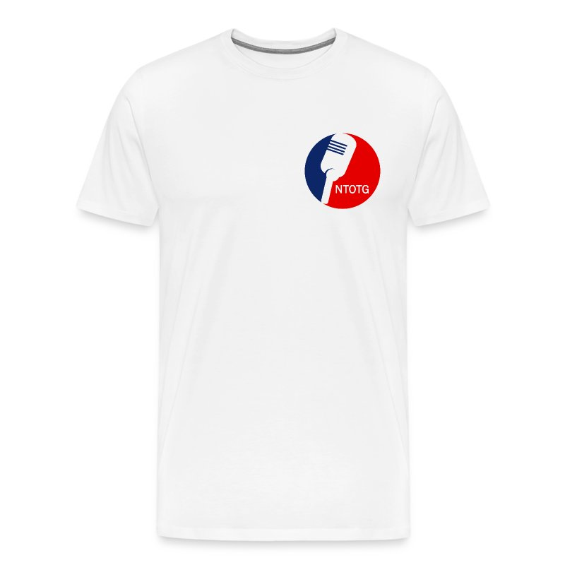 NTOTG Mic (White) - Men's Premium T-Shirt