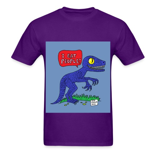 I Eat People - Men's T-Shirt