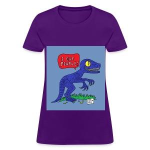 I Eat People - Women's T-Shirt