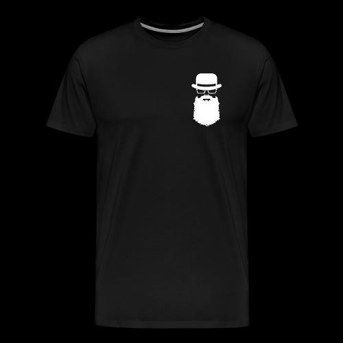Manhood OG/back white logo  - Men's Premium T-Shirt