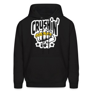 Crushin' it! Brass Knuckles - Men's Hoodie