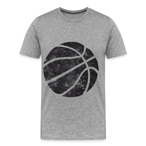 Retro Basketball - Men's Premium T-Shirt